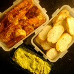 Shrimp Scampi with Guacamole