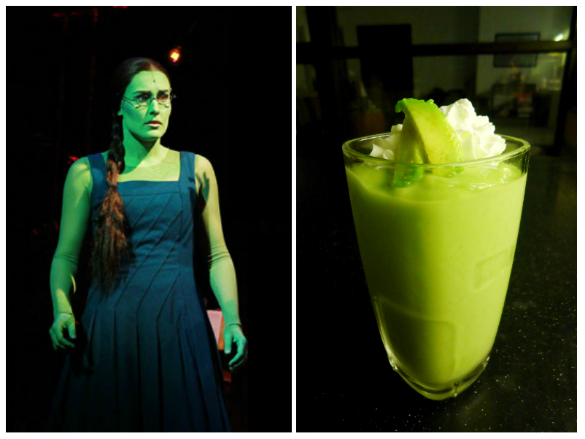 Elphaba and my Avocado Shake