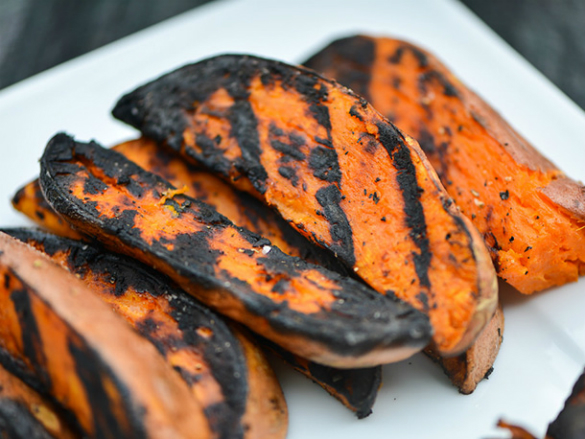 Simple Sunday Snack: Sweet Orange Potatoes