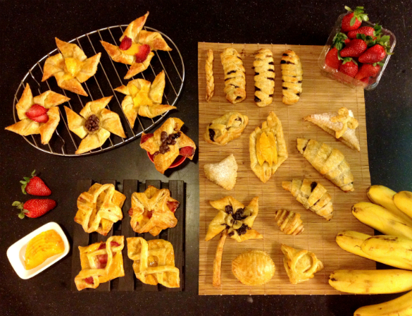 Simple Sunday Snack: Puff Pastry