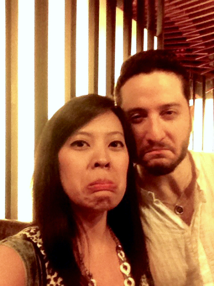 Took a grumpy cat selfie with Alejandro Manzano of Boyce Avenue at the Smart Araneta Coliseum.