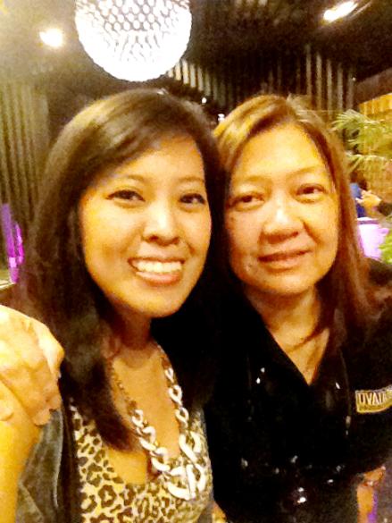 With tita C! :)