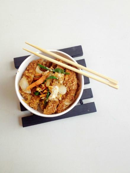 Pork Katsudon at Hanako