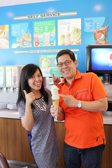 Family Mart's Twirl-All-You-Can Ice Cream