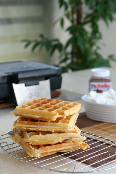 s'more waffles