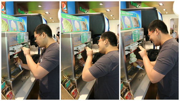 Family Mart: Twirl-All-You-Can Ice Cream